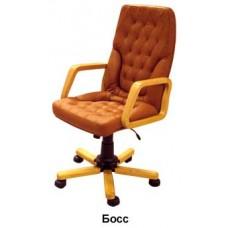 """Кресло для руководителя """"Босс"""" дерево"""