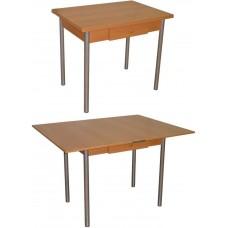 Стол для кухни 142.4 раскладной с ящиком