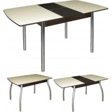 Стеклянный стол раздвижной М142.66
